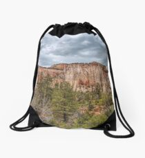 Forests and Bluffs Drawstring Bag