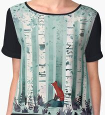 The Birches Women's Chiffon Top