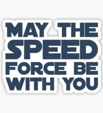 May the Speed Force be with you Sticker