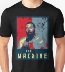 The Machine  Political Poster- Bert Kreischer Unisex T-Shirt