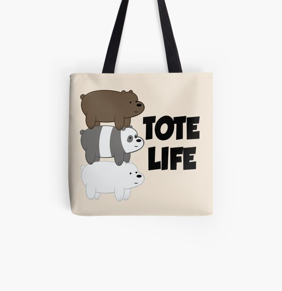 Tote Life All Over Print Tote Bag