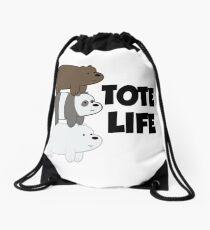Tote Life Drawstring Bag