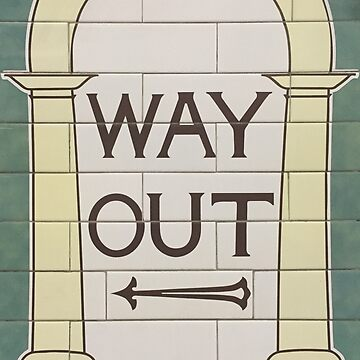 Way Out (left) by dschweisguth