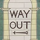 Way Out (left) by Dave Schweisguth