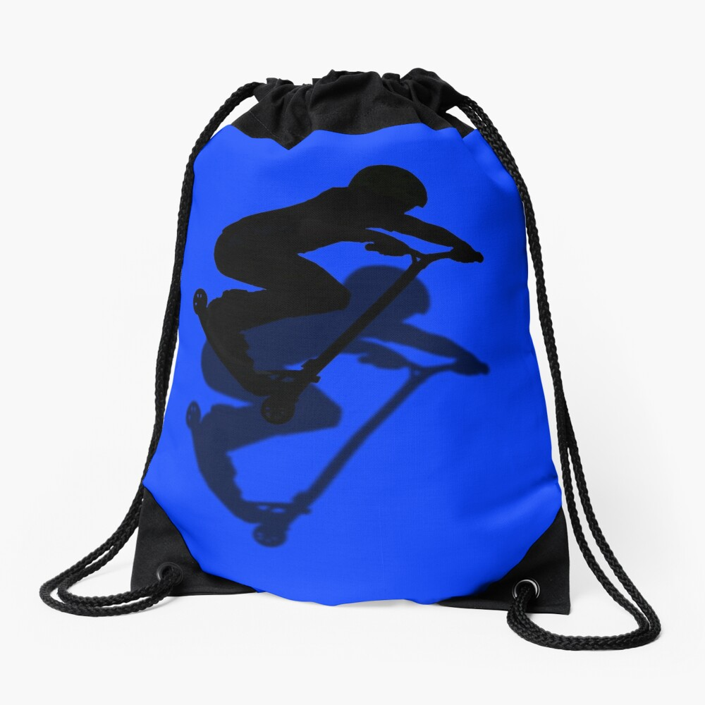 Scooter Boy - Stunt Scooter Rider #5 Drawstring Bag