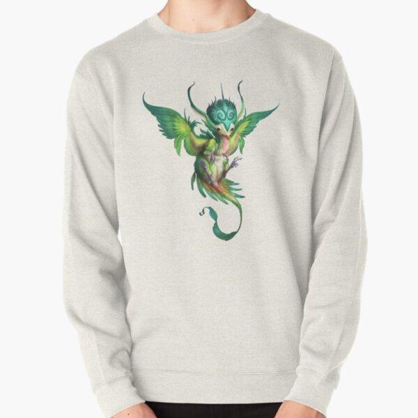 Little Princess Parrot Dragon Pullover Sweatshirt