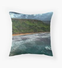 Ghajn Tuffieha Bay Throw Pillow