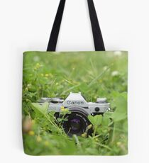 Canon and Clover Tote Bag