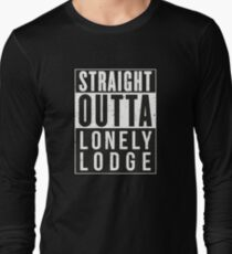 Fortnite Battle Royale - Straight Outta Lonely Lodge Long Sleeve T-Shirt