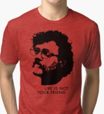 Culture Is Not Your Friend - Terence McKenna Tri-blend T-Shirt