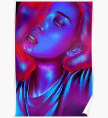 Sunmi Neon Poster