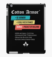 Cotton Armor RPG Role Playing iPad Case/Skin