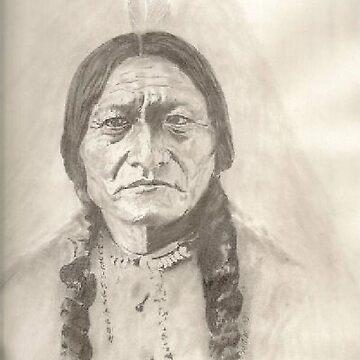 Sitting Bull by artmgm
