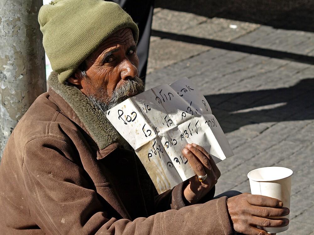 Beggar on King George by MichaelBr