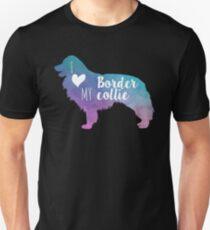 I love my Border collie Unisex T-Shirt