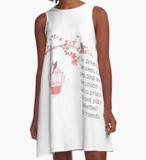 Wedding, bride, husband, funny engaged, funny married couple A-Line Dress