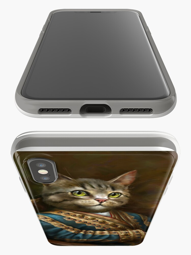 Alternate view of The Hermitage Court Outrunner Cat  iPhone Case & Cover
