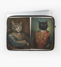 The Hermitage Court Outrunner Cat  Laptop Sleeve
