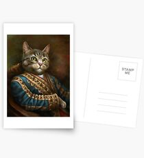 The Hermitage Court Outrunner Cat  Postcards