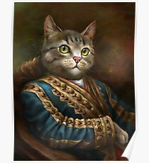 Die Hermitage Court Outrunner Cat Poster