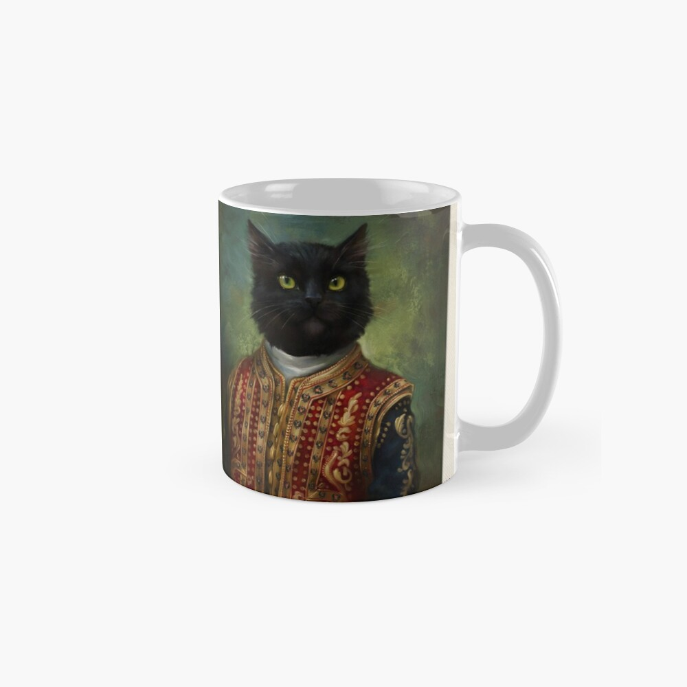 The Hermitage Court Outrunner Cat  Mug