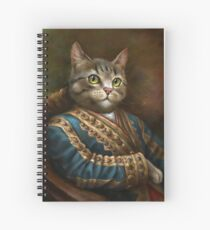 Cuaderno de espiral The Hermitage Court Outrunner Cat