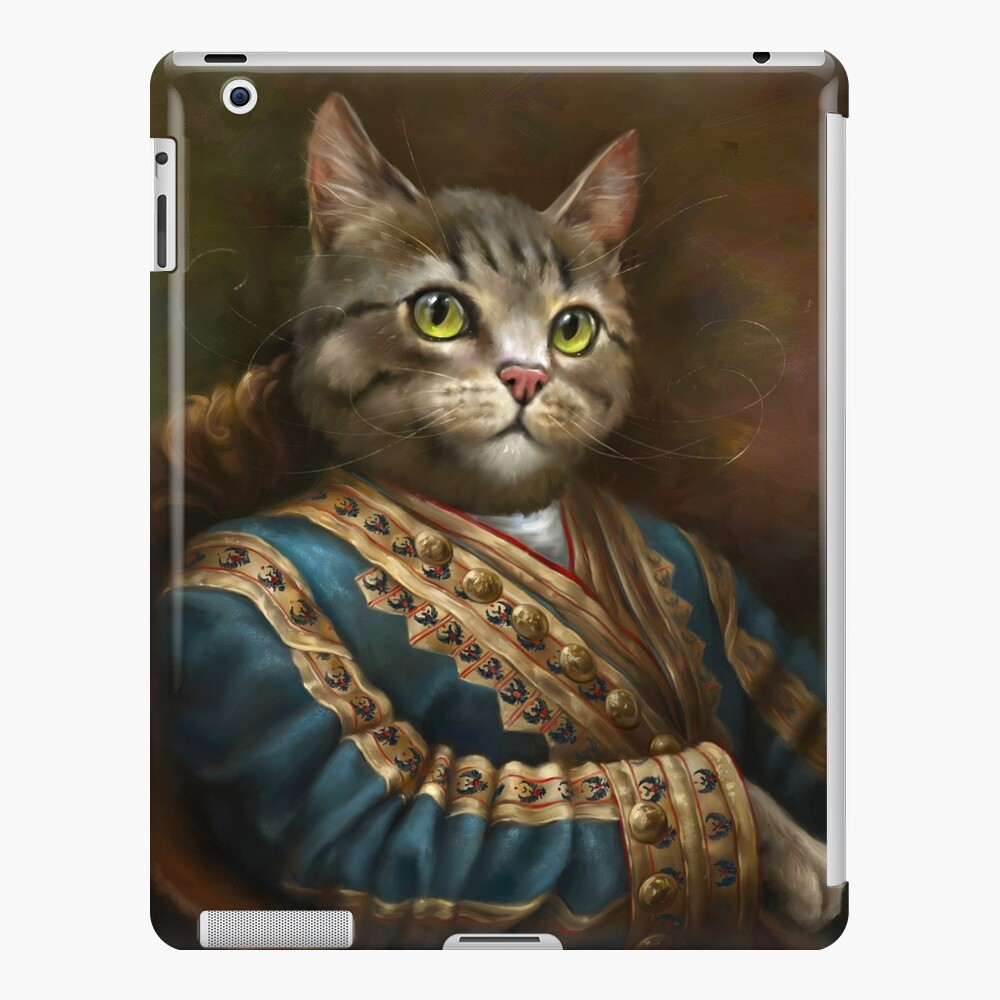 The Hermitage Court Outrunner Cat  iPad Case & Skin