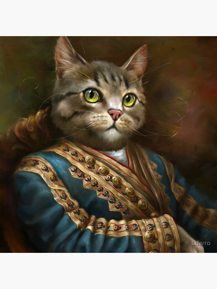 The Hermitage Court Outrunner Cat  by Ldarro