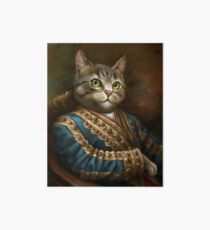 The Hermitage Court Outrunner Cat  Art Board