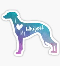I love my Whippet Sticker