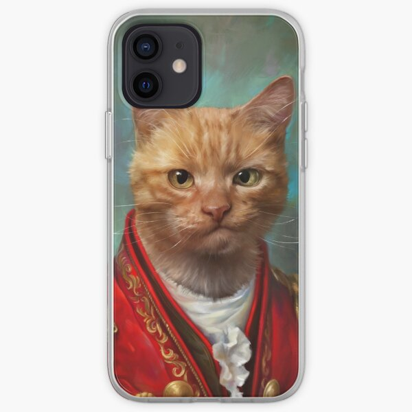 Court General Wise Cat  iPhone Soft Case