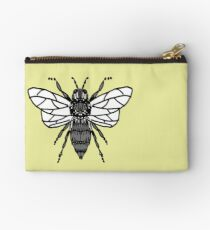 Bee Pattern (Haverford XC) Zipper Pouch