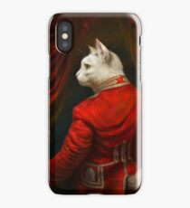The Hermitage Court Chamber Herald Cat Edited version iPhone Case/Skin