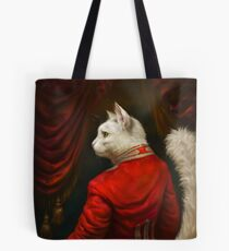 The Hermitage Court Chamber Herald Cat Edited version Tote Bag