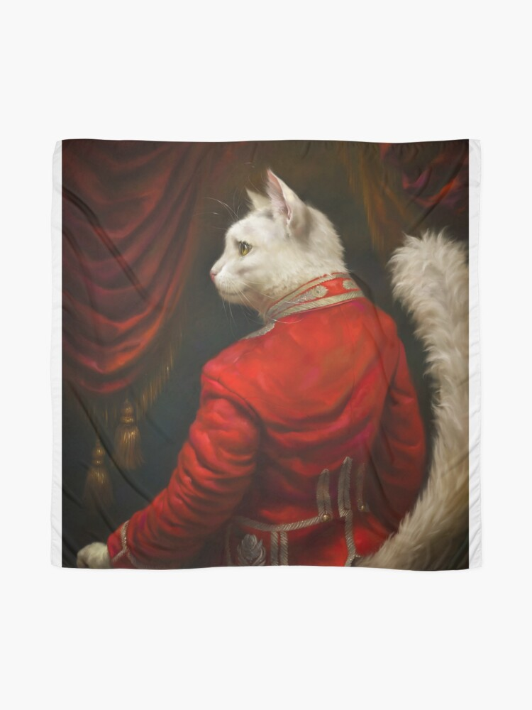 Alternate view of The Hermitage Court Chamber Herald Cat Edited version Scarf
