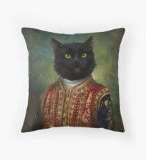 Hermitage Court Moor in casual uniform  Throw Pillow