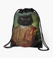 Hermitage Court Moor in casual uniform  Drawstring Bag