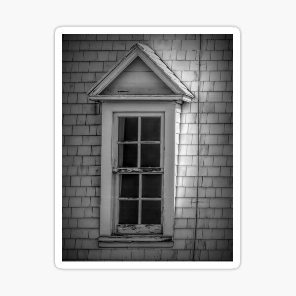 Vintage Dormer Window  Sticker