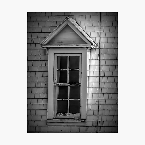 Vintage Dormer Window  Photographic Print