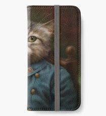 The Hermitage Court Confectioner Apprentice Cat  iPhone Wallet/Case/Skin
