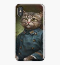 The Hermitage Court Confectioner Apprentice Cat  iPhone Case