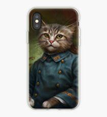 The Hermitage Court Confectioner Apprentice Cat  iPhone Case