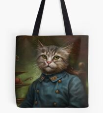 The Hermitage Court Confectioner Apprentice Cat  Tote Bag