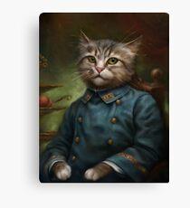 Der Hermitage Court Konditor Lehrling Cat Leinwanddruck