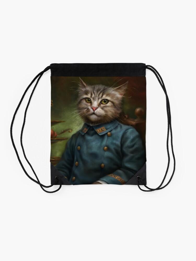 Vista alternativa de Mochila de cuerdas The Hermitage Court Confectioner Apprentice Cat