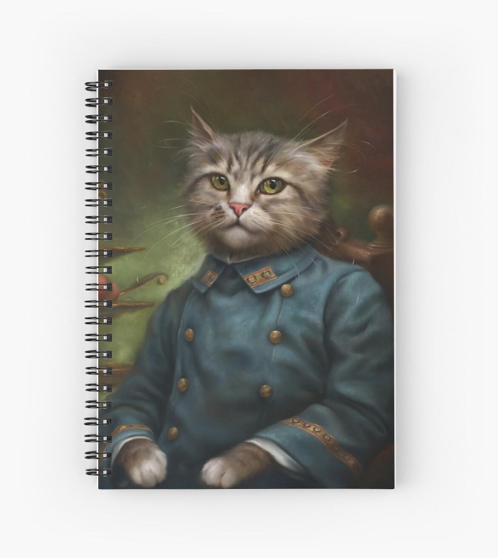 «The Hermitage Court Confectioner Apprentice Cat» de Ldarro
