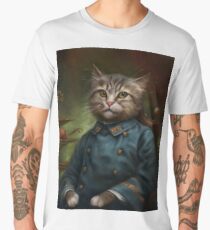 The Hermitage Court Confectioner Apprentice Cat  Men's Premium T-Shirt