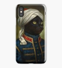 The Hermitage Court Moor Cat  iPhone Case