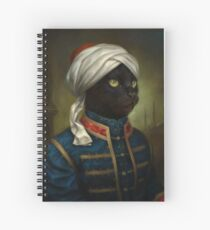 Cuaderno de espiral The Hermitage Court Moor Cat