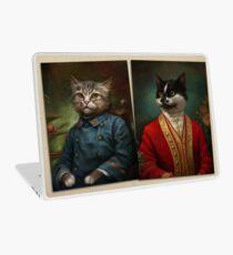 The Hermitage Court Waiter Cat Laptop Skin